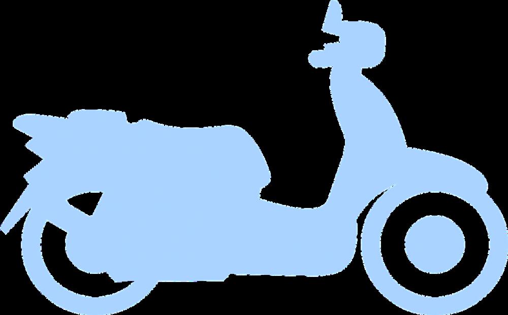 Ældre mennesker kan også erhverve sig en scooter